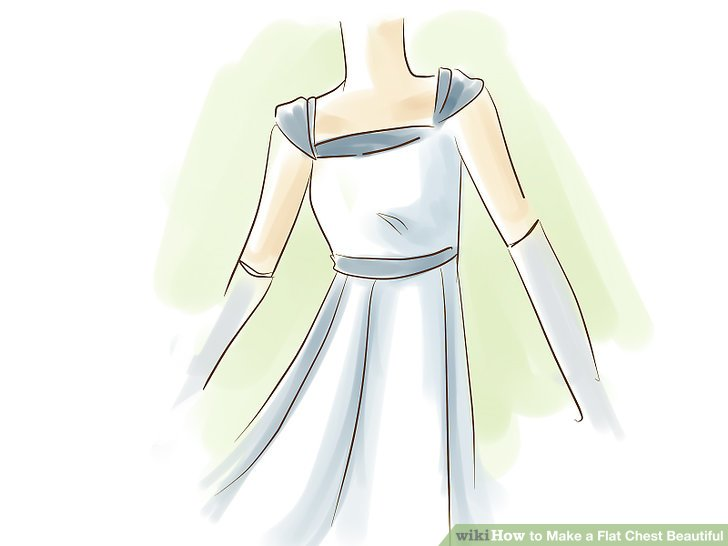 Suchen Sie nach Oberteilen und Kleidern mit Empire-Taille.