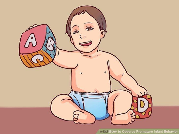 Beachten Sie, wann das Baby bestimmte Meilensteine erreicht.