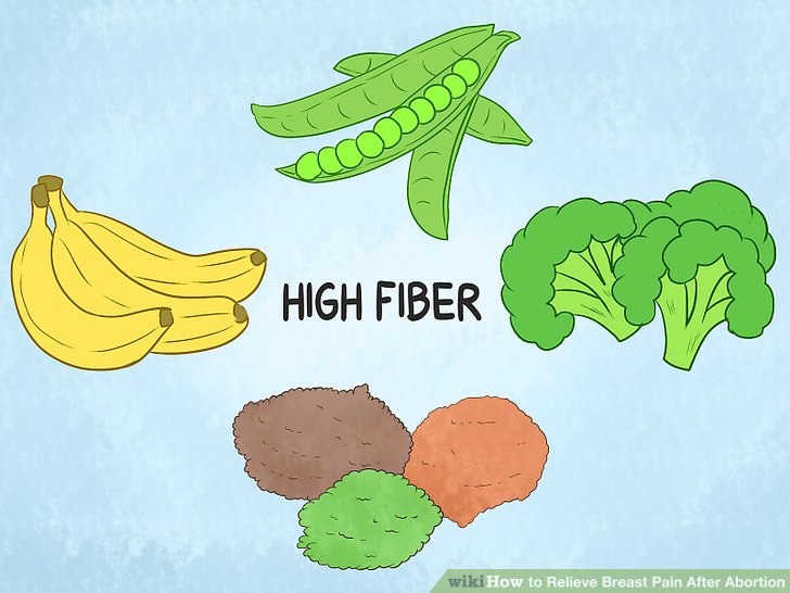 Switch to a high-fiber diet.