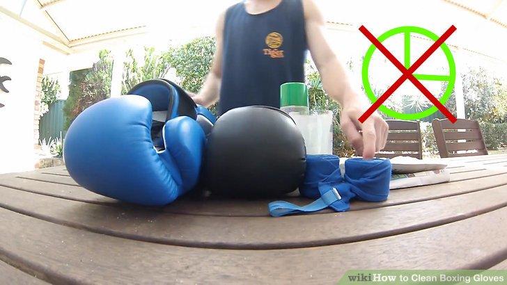 Wie ist es gemacht wie zu reinigen boxhandschuhe