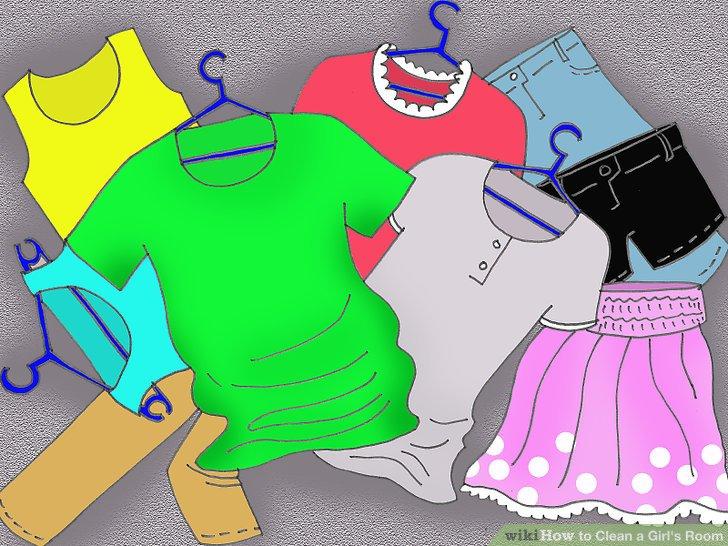 Leeren Sie Ihren Kleiderschrank vollständig.