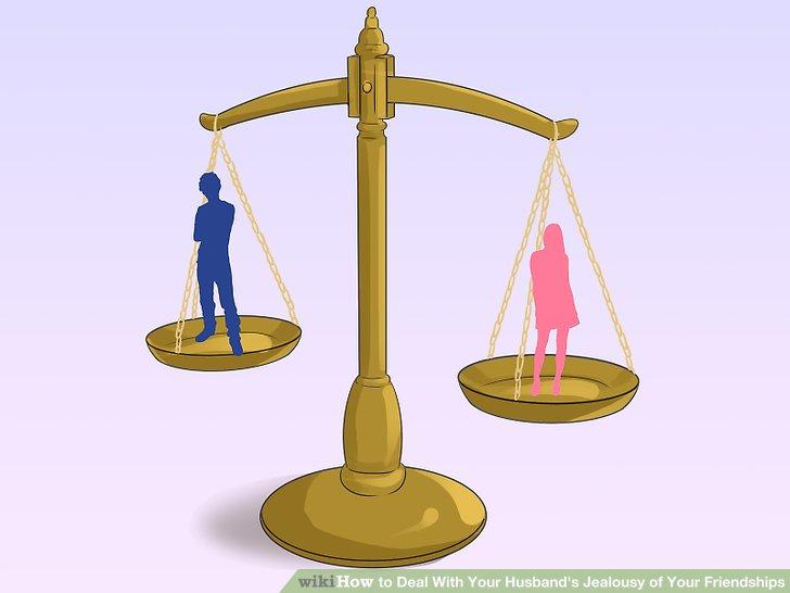 Entdecken Sie das Gleichgewicht zwischen Ihrem Ehemann und Ihren Freunden.