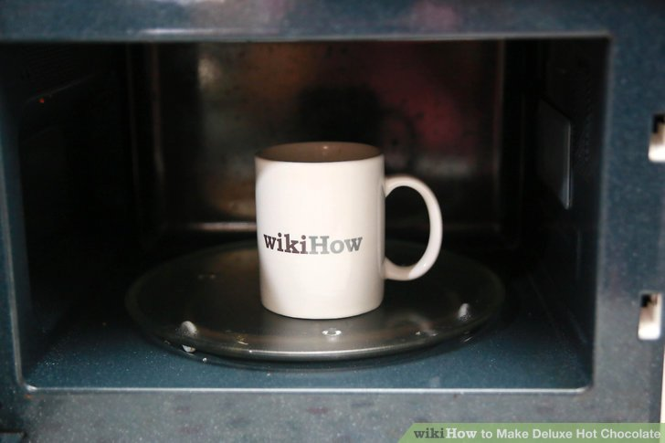 Put the mug back in the microwave for 50-60 seconds.