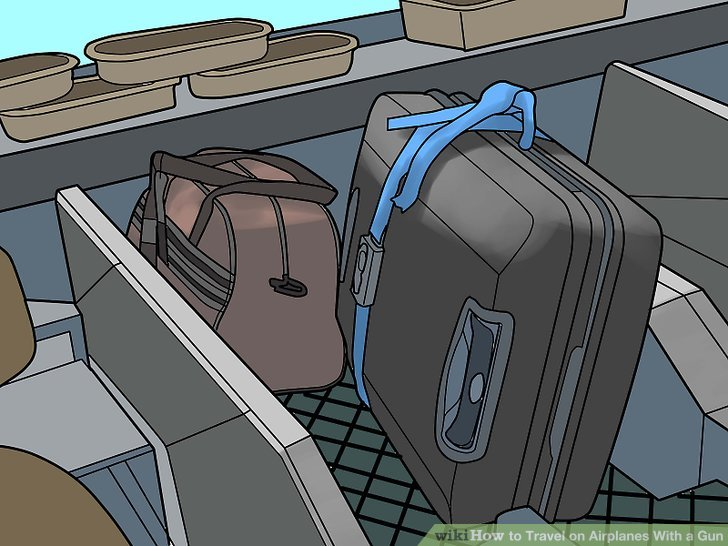 For guns, the first step on arriving at the airport is to proceed directly to the baggage check-in -- you cannot use curbside check-in.