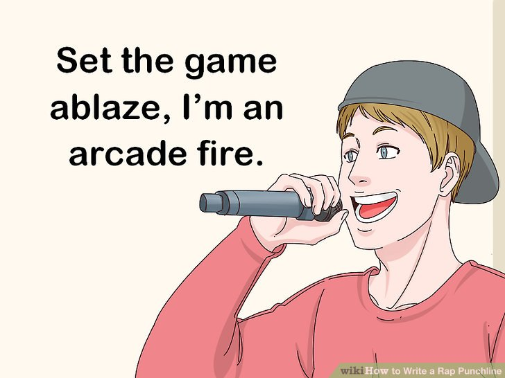 How to Write a Rap Punchline: 13 Steps (with Pictures) - wikiHow