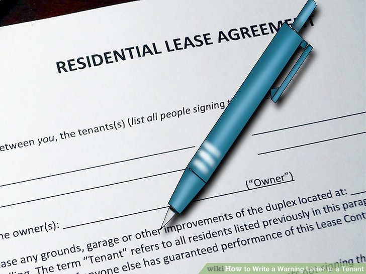 How To? - How to Write a Warning Letter to a Tenant