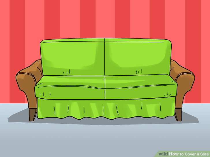Put the cushions back on the couch.