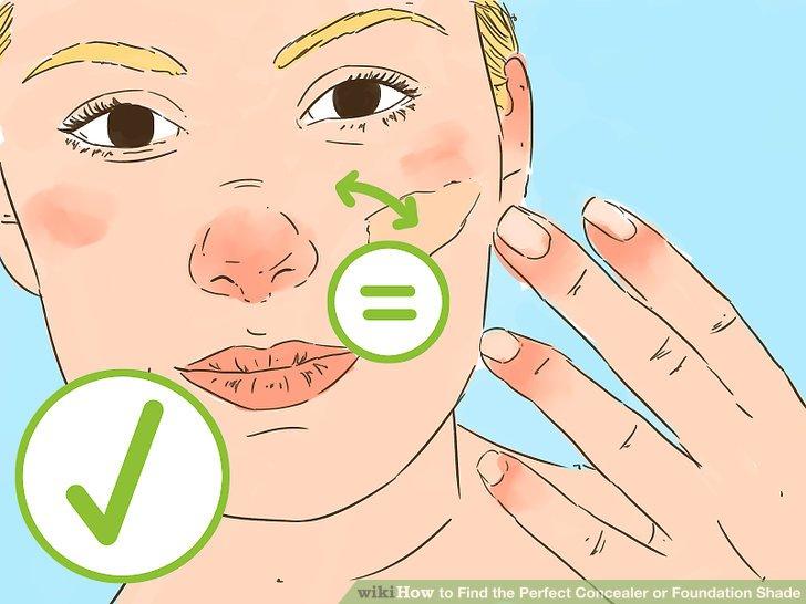 Passen Sie zuerst den Grundton Ihrer Haut an.