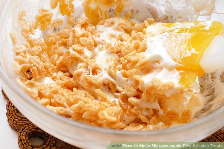 how to make microwaveable rice krispies treats