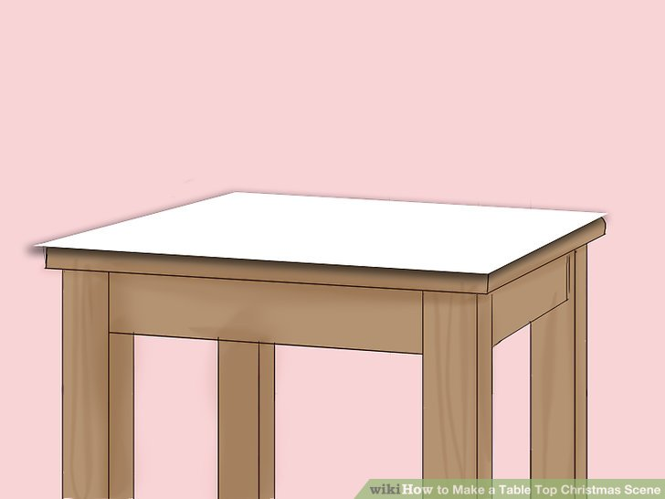 how to make a sofa table top ferguson copeland leather christmas scene 9 steps with pictures image titled step 1