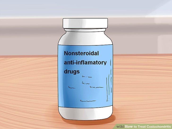 Versuchen Sie es mit rezeptfreien Schmerzmitteln.