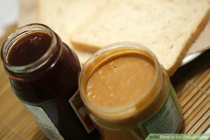 Probieren Sie gemischte Erdnussbutter.