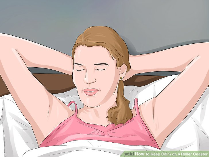 Practice self calming techniques.