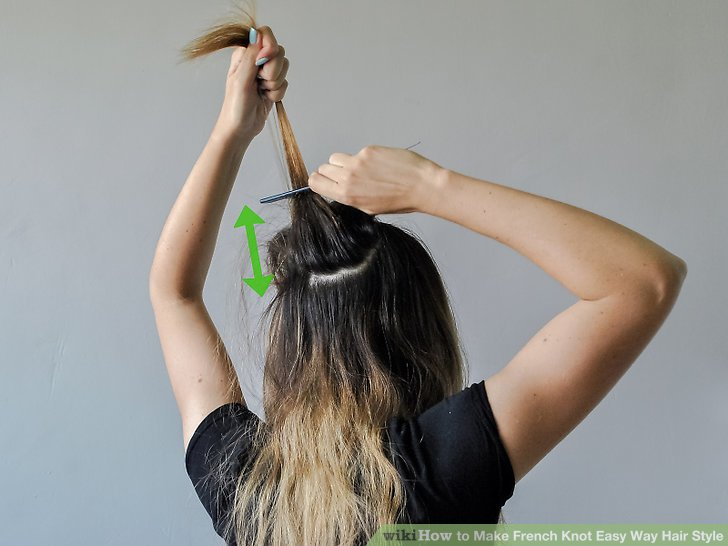 How To Make French Knot Easy Way Hair Style Practical Information
