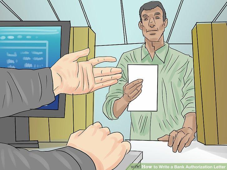 Wie Ist Es Gemacht Wie Schreibt Man Eine Bank Die Autorisierung Brief