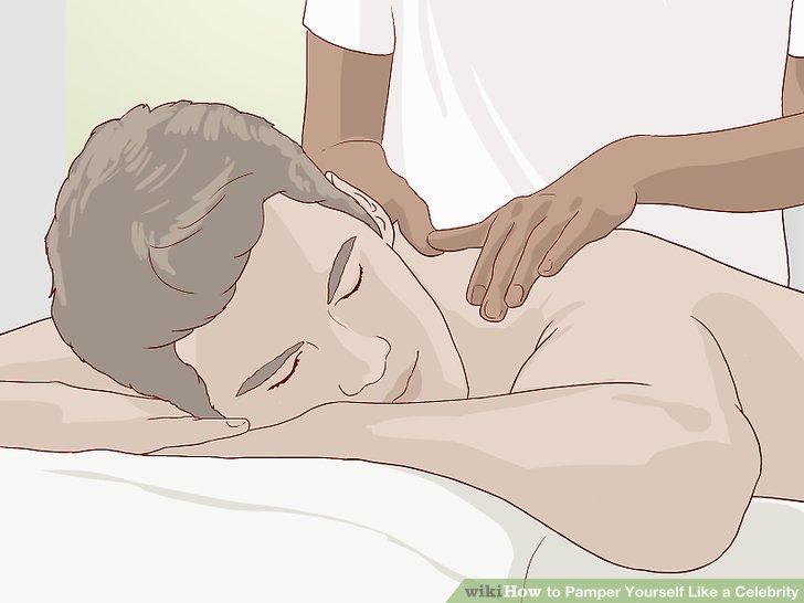 Gönnen Sie sich eine Massage oder lassen Sie sich von einem Freund beraten.