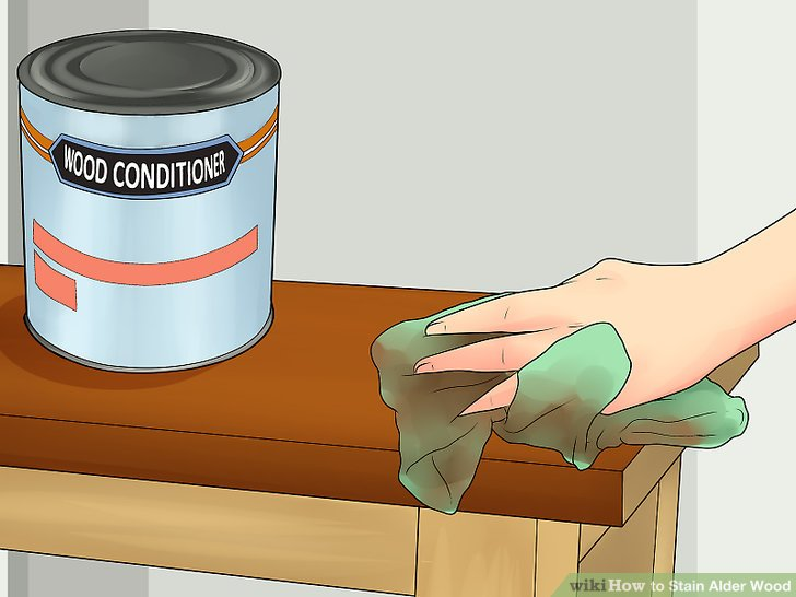 Apply a wood conditioner, helping absorb pigments more thoroughly.