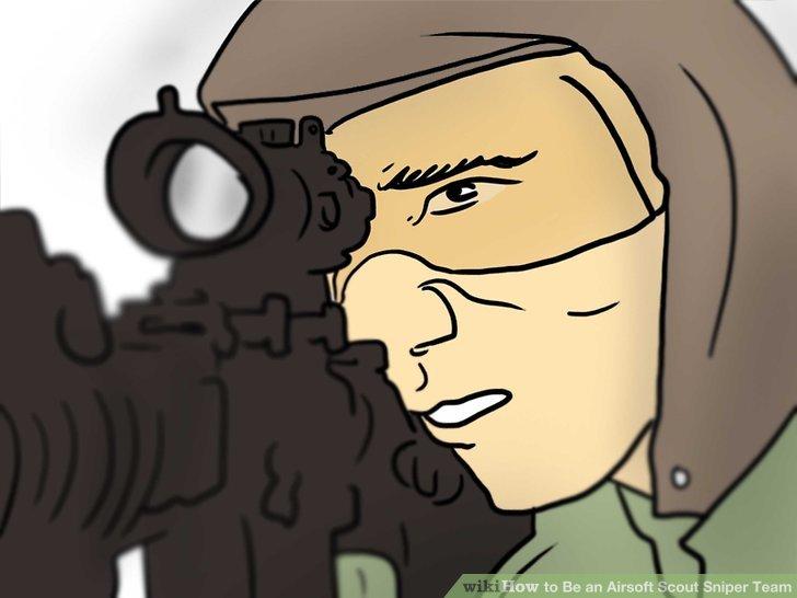 Examine the sniper's job.