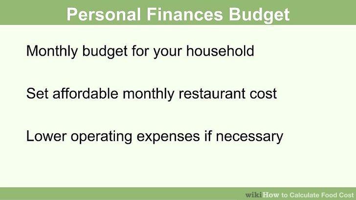Bestimmen Sie, wie viel Geld Sie sich jeden Monat leisten können.