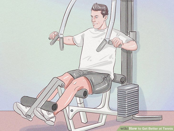 Übe 3 oder 4 Mal pro Woche eine halbe Stunde lang Aerobic-Übungen.