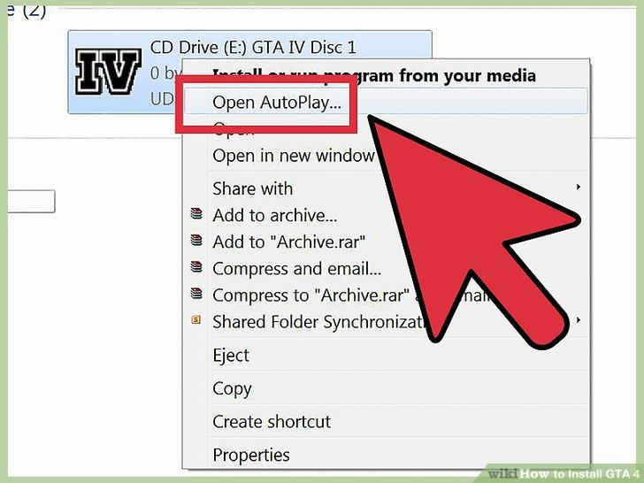 Laden Sie eine virtuelle DVD-ROM-Software herunter, die die digitale Kopie des GTA-Installationsprogramms lesen kann.