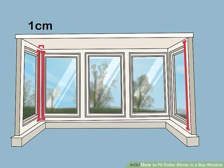 Messen Sie beide Seitenwände von ihren Ecken bis zu den Rändern der Rahmen.