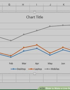 Image titled make  line graph in microsoft excel step also easy ways to rh wikihow