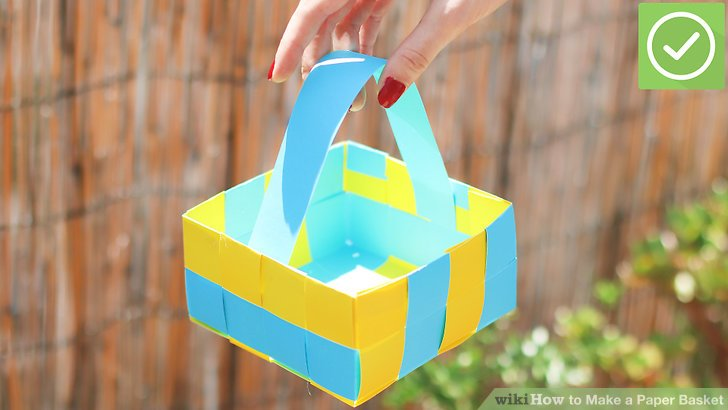 How To How To Make A Paper Basket