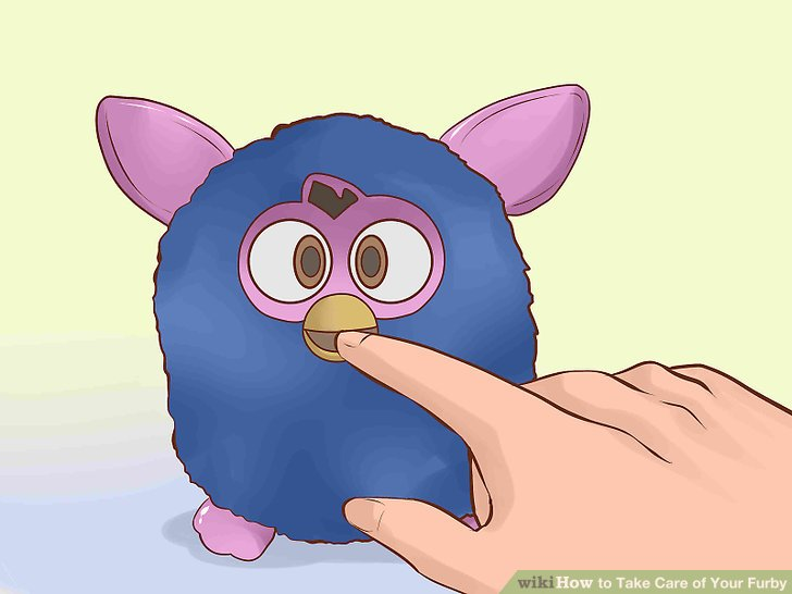 Feed your Furby.