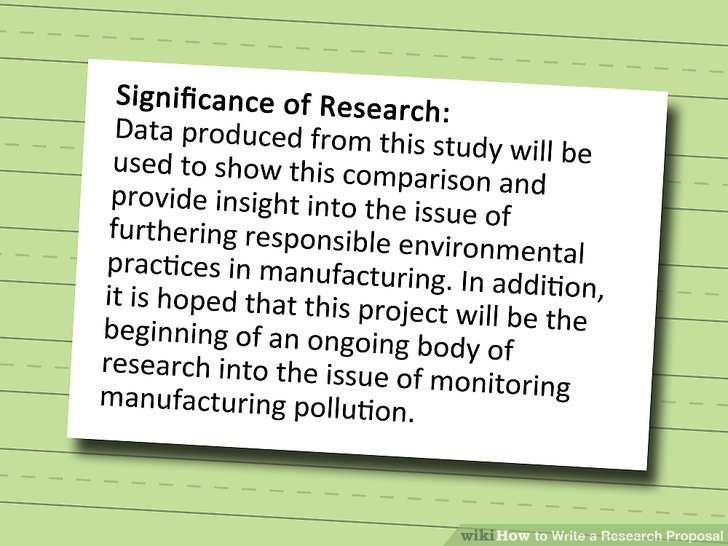 How To Write A Research Proposal With Pictures WikiHow