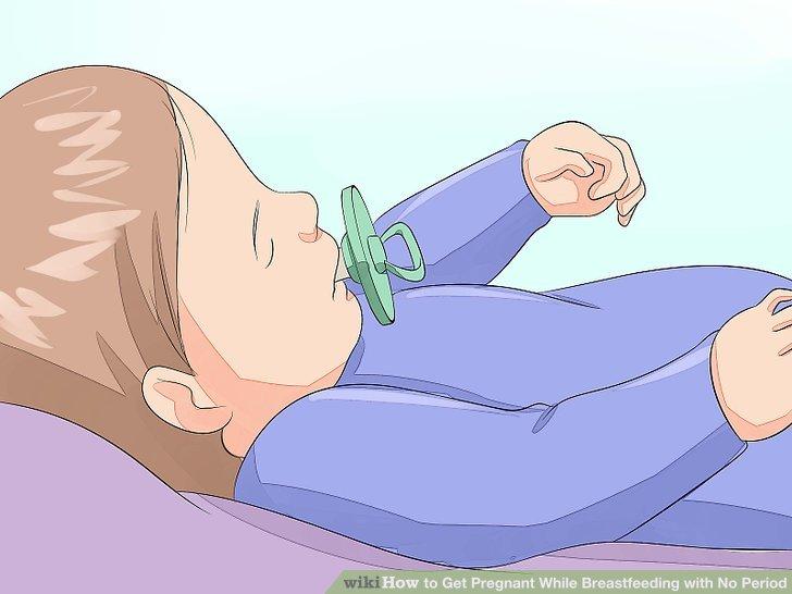 Geben Sie Ihrem Baby einen Schnuller zum Ansaugen.