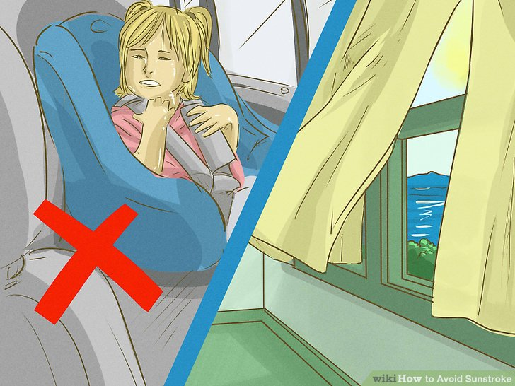 Avoid enclosed spaces.