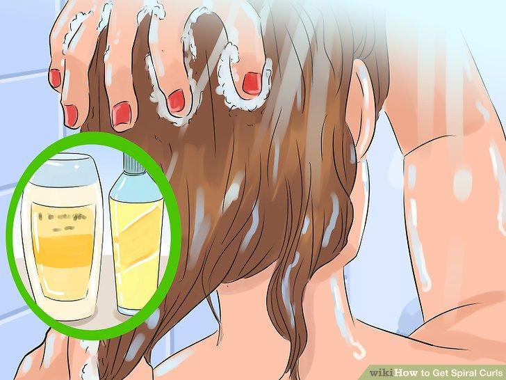 Saçınızı yıkayın ve yumuşatın.