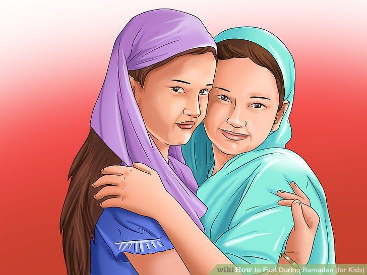 Verbringen Sie Zeit mit anderen muslimischen Freunden.