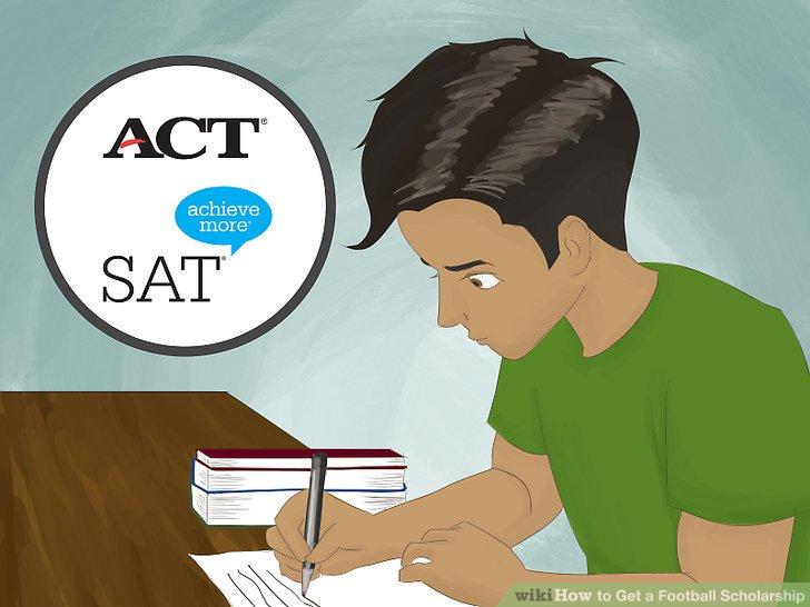 Erhalten Sie solide ACT- oder SAT-Ergebnisse.