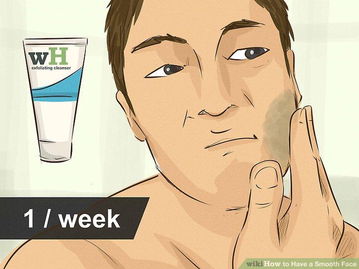 Verwenden Sie zweimal pro Woche ein Peeling.