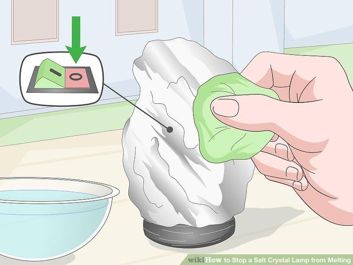 Reinigen Sie die Lampe mit einem feuchten Tuch.
