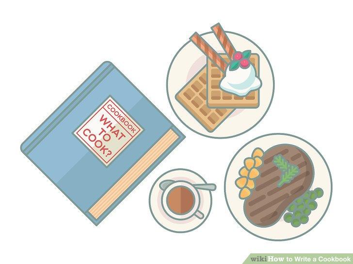 Wählen Sie den Fokus oder das Thema des Kochbuchs.