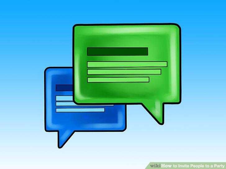 Wenn Sie können, starten Sie eine Konversation im Ereignisbereich.