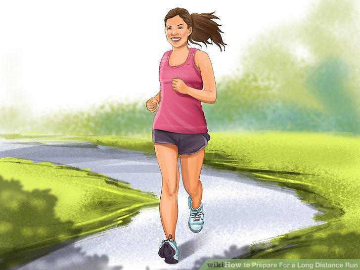 Laufen Sie langsam.