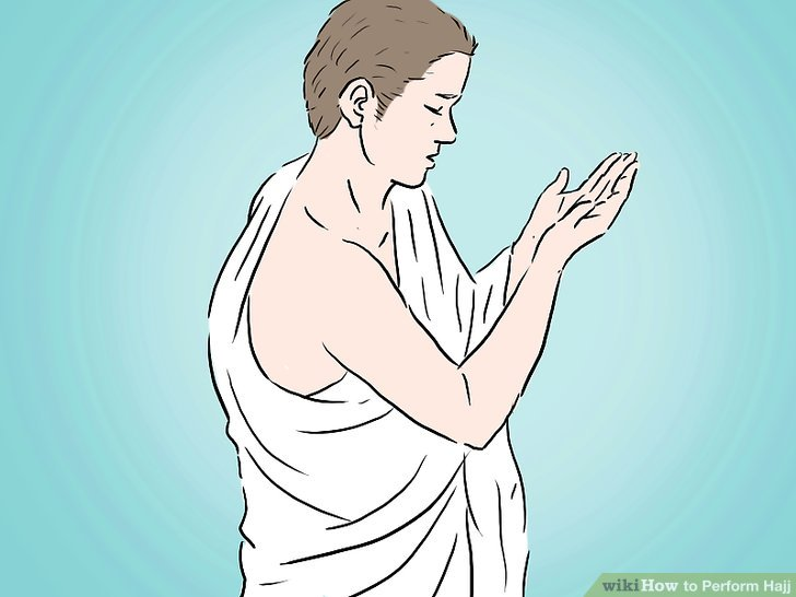 Re-assume Ihram and declare your intention to perform Hajj.