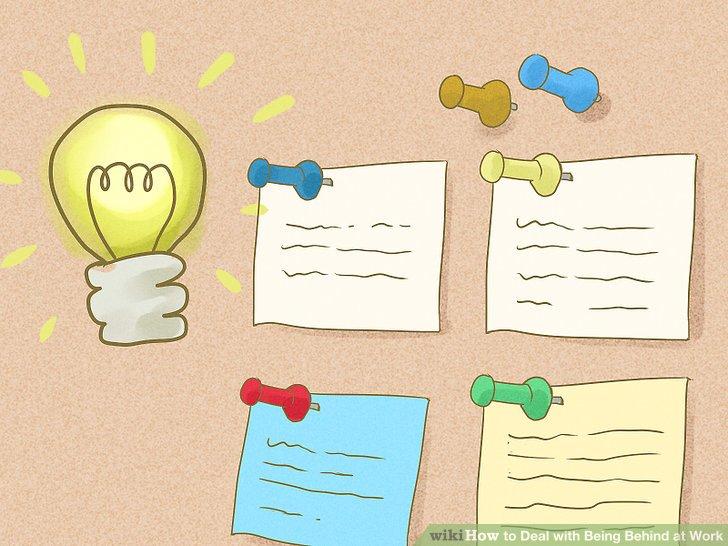 Erstellen Sie Haftnotizen für kritische Aufgaben.