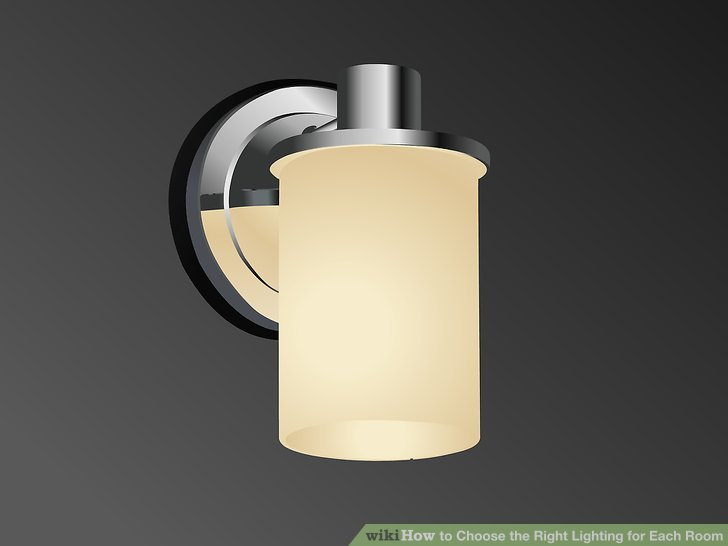 Use recessed lighting to light a general area.