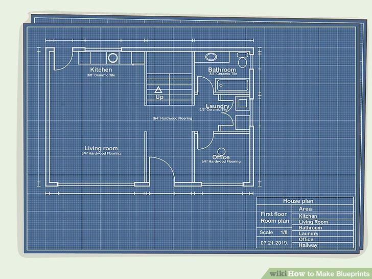 how to make blueprints