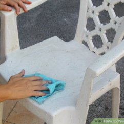 How To Paint Plastic Chairs Booster Seat Straps Chair 3 Ways Furniture Wikihow Image Titled Step 1