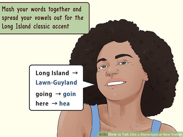 Mischen Sie Ihre Worte zusammen und verteilen Sie Ihre Vokale für den Long Island-Klassiker.