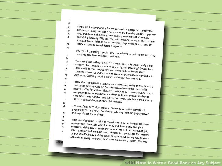 How to Write a Good Book on Any Subject - Practical Information