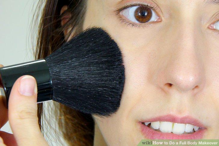 Versuche neue Make-up-Tricks.