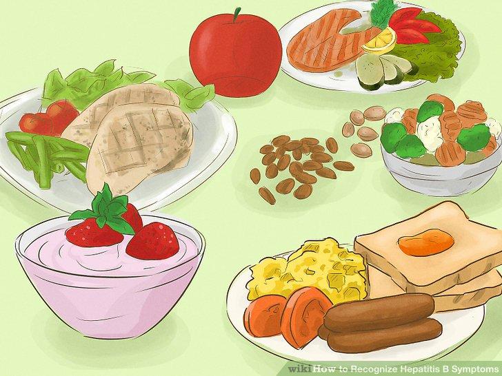 Ernähre dich gesund.