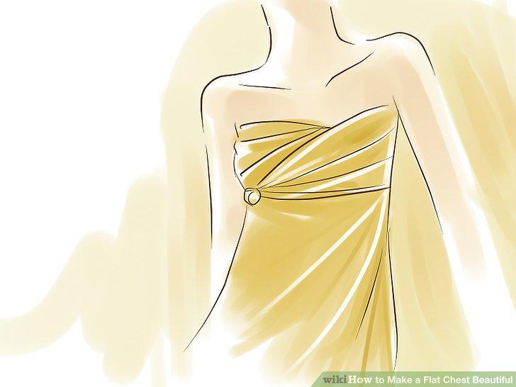 Probieren Sie auch eng anliegende Wickelblusen und -kleider, um das Erscheinungsbild einer kurvigen Sanduhrfigur zu gestalten.